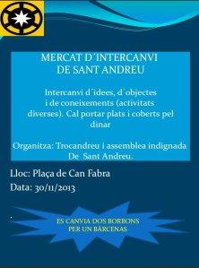 Mercat intercanvi 2013