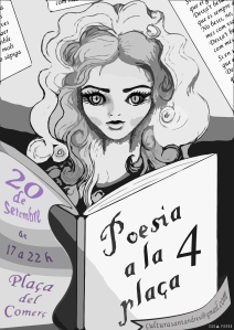 Poesia a la Plaça 4 Cartell 1